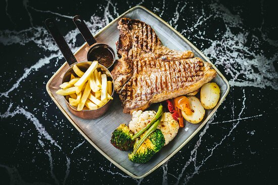 What is better than a grilled steak that comes with vegetables and fries? Check out our options since we have something for everybody.