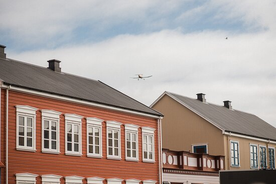 New downtown area of Selfoss where the past connects with the present in a truly unique way.