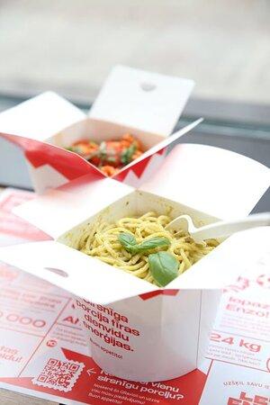 Fresh pasta take away