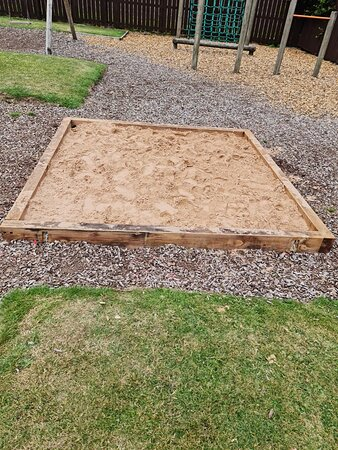 Our New SandPit.