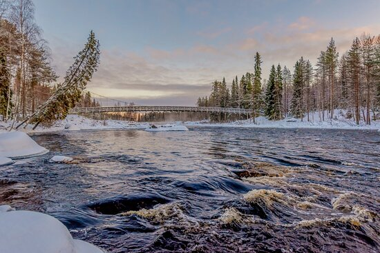 We will go to see beautiful locations in Lapland