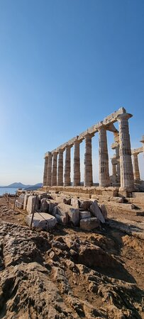 Cape Sounion and Temple of Poseidon Half-Day Small-Group Tour from Athens: Cape sounion