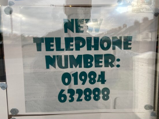 New phone number