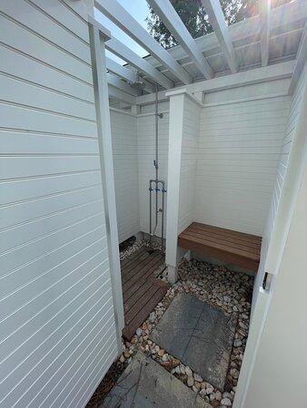 Unit 14 outdoor shower