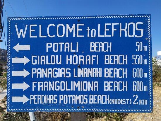 Beaches in Lefkos