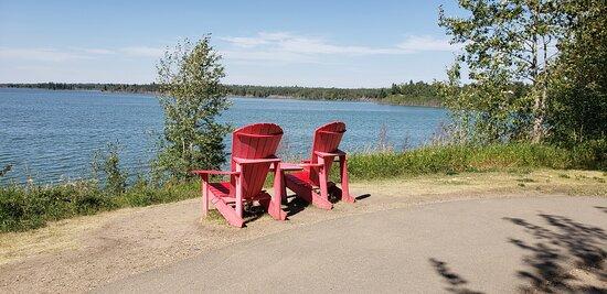 Astotin Lake - nice lake view
