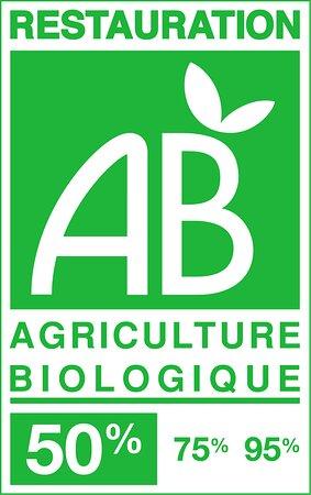 Restaurant certifié Agriculture biologique