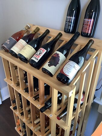 Come check out our wine selection.