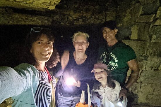 Visite officielle du musée des catacombes d'Odessa