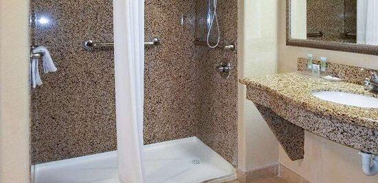 Motel Hobbs NM Bathroom ADA