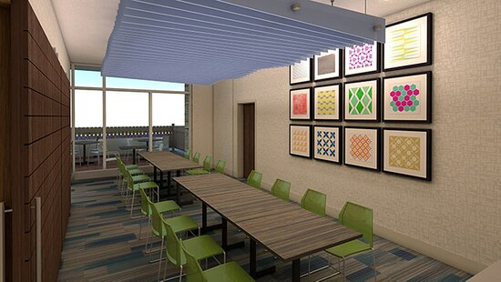 Meeting Room in the new Holiday Inn Express & Suites Jackson