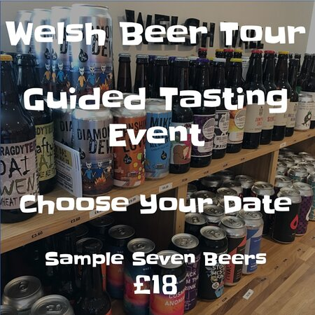 Tasting events available - check on beerpark.co.uk for available dates or ask for a custom event.