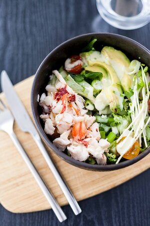 restaurant viande americain lobster roll fruits de mer poisson burger hot dog surf and turf  (103)