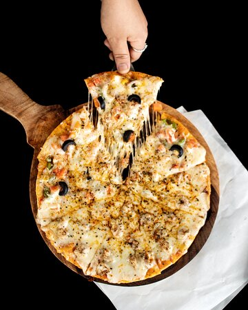 Local Herb based pizza