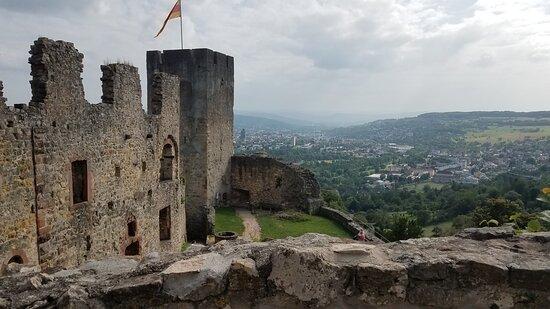 Lorrach, Γερμανία: Castle walls