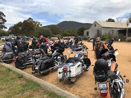 Popular with bike trips including the Harley riders.