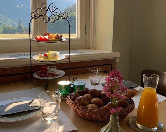 Frühstück Pop-Up Lodge
