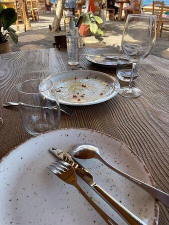 Super accueil cuisine délicieuse à conseiller – Foto de Yalos, Santorini - Tripadvisor