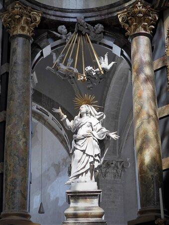 Mechelen Onze-Lieve-Vrouw-over-de-Dijlekerk Madonna of High Altar, J.F. Boeckstuyns