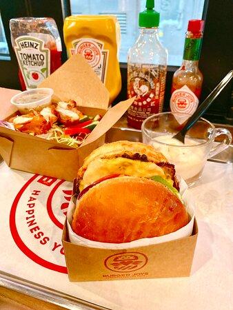 《🍔Burger Joys🍔》超高質沙律🥗和漢堡🍔👍🏻👍🏻