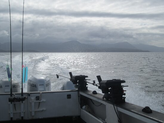 Ketchikan Salmon Fishing Charters: Gorgeous scenes as you head out to the fish