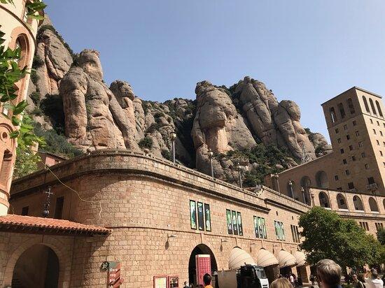 Montserrat Tour with Lunch and Gourmet Wine Tasting: Montserrat view