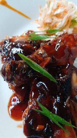 Honey BBQ Jerk Pork