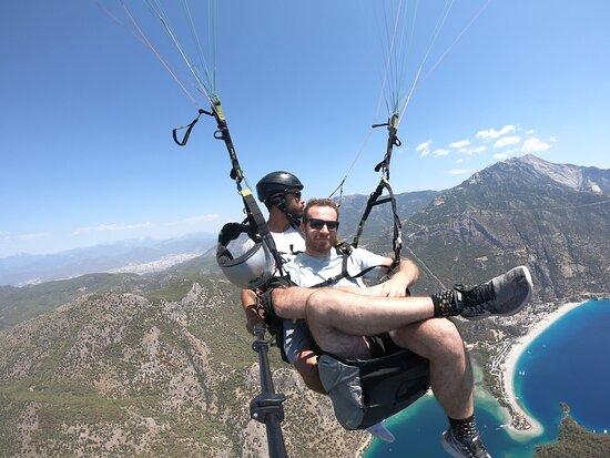 Paragliding Oludeniz, Fethiye, Turkey: chill