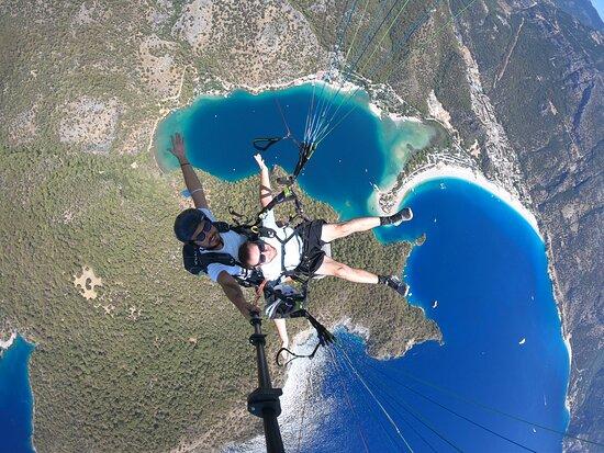 Paragliding Oludeniz, Fethiye, Turkey: Have fun