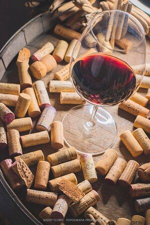 Copa de vino, foto Shessy Flores Fotografia