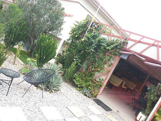 Pavillion Restaurant Exterior.