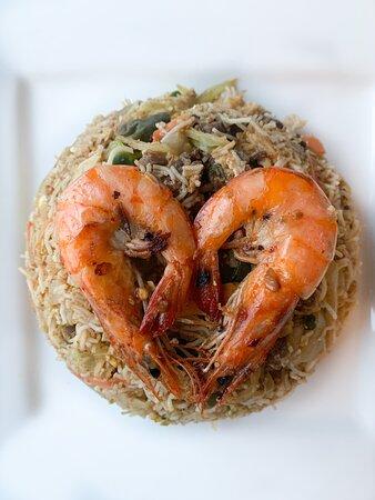 Shrimp String Hopper Kothu