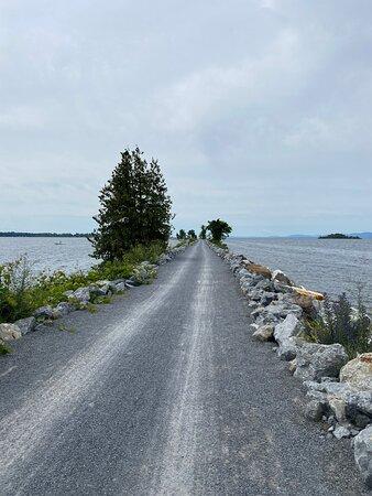 Riding Bikes on the Burlington Bike Path