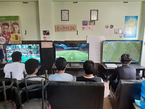 Mirage gaming house playstation xbox video game zone kathmandu nepal #kathmandu #nepal #playstation #ps4 #game #xbox #games #play #fifa #gaming #videogames #gamer #football #soccer  Don't call. Message only, just send message directly in viber, WhatsApp or message us in our facebook page.  For price details message us at: https://www.facebook.com/TheMirageGamingHouse/ Viber/ whatsapp: 9807662587 Location: Nakhipot chowk, infront of nakhipot basketball ground, tallest building, 1st floor Lalitpur