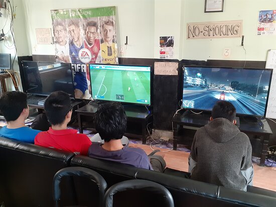 Mirage gaming house playstation xbox video game zone kathmandu nepal  #kathmandu #nepal #playstation #ps4 #game #xbox #games #play #fifa #gaming #videogames #gamer #football #soccer  Don't call. Message only, just send message directly in viber, WhatsApp or message us in our facebook page.  For price details message us at: https://www.facebook.com/TheMirageGamingHouse/ Viber/ whatsapp: 9807662587 Location: Nakhipot chowk, infront of nakhipot basketball ground, tallest building, 1st floor Lalitpu