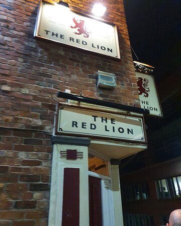 The Red Lion Sheffield.