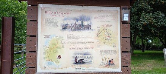 Battle of Sedgemoor Noticeboard