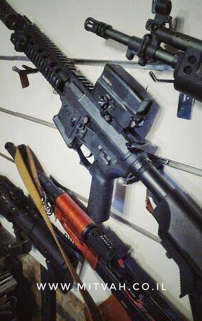 מעל 20 סוגי נשקי איירסופט בשבילכם