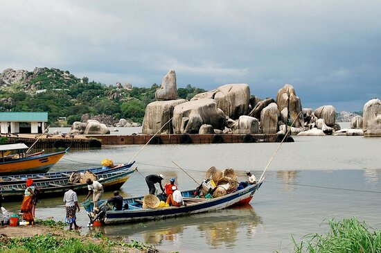 Tanzanie : Tanzania offers some fantastic fishing tourism. Enjoy fishing tourism around Lake Victoria (the largest lake in Africa), glide along peacefully in your own private boat with a seasoned captain and knowledgeable fishing guide.