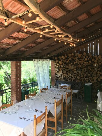 un dettaglio del ristorante (all'aperto)