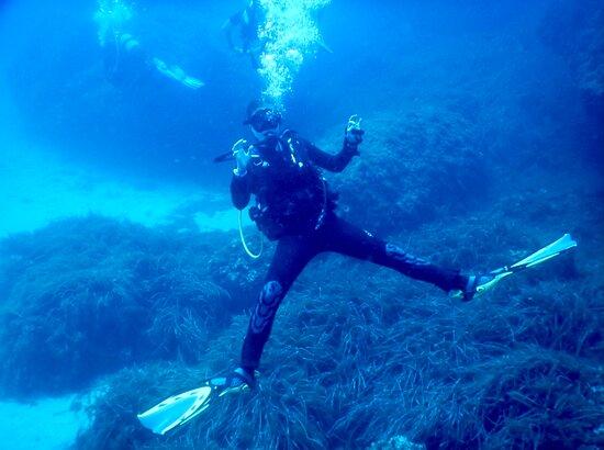 Cala d'Or, Spain: Enjoying the dive 🐠😄