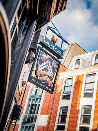 Ask our team the Story of the pub sign!