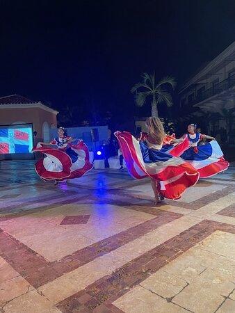Dominican entertainment live show