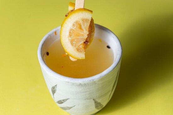 Авторский чай из натуральных ягод на основе с мёдом без сахара ☺️👌🏻