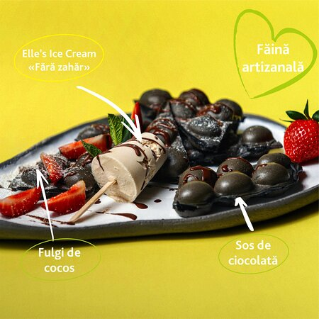 Sweet bubble waffles  🌿Sugar free  🌿Gluten free