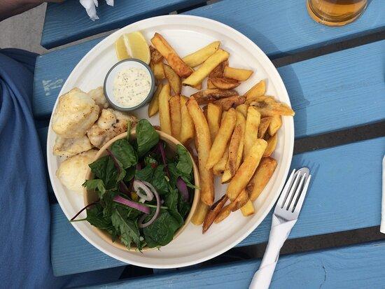 pan-fried monkfish