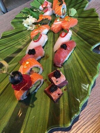 Sushi - quite ok and regular