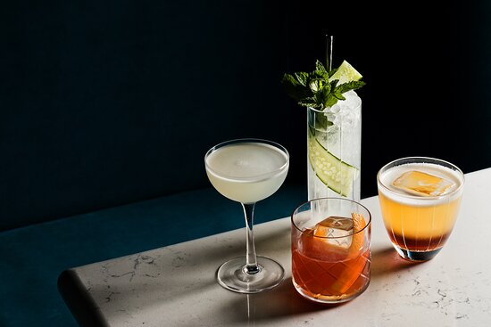 Cocktails by 2021 US Bartender of the year, Adam Fournier