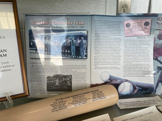 Jamestown, Северная Дакота: 1958 Drayton Baseball Dynesty