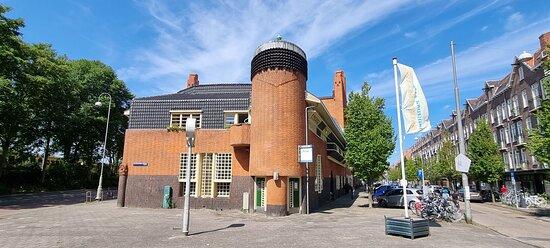 Amsterdam - Het Schip - Xilopa - Angle du bureau de poste